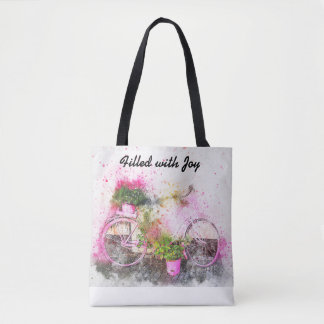 Tote Bag:  Filled with Joy