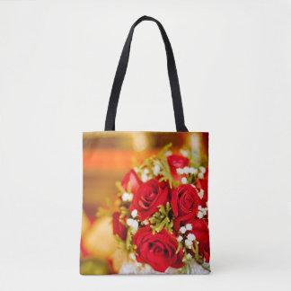 Tote Bag: Floral Design