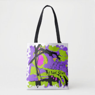 Tote bag for artists