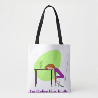 Tote Bag For Fibromyalgia Awareness