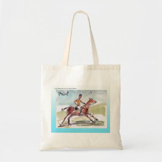 Tote Bag for Polo Lovers