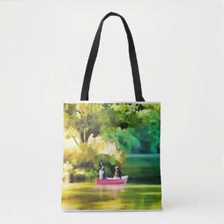 Tote bag for the Lake and boat