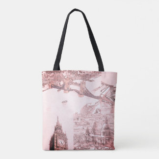 Tote Bag - Four London Icons