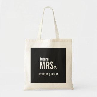 Tote Bag - future Mrs. Ring (Bling)