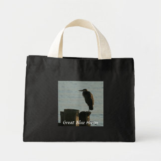Tote Bag:  Great Blue Heron