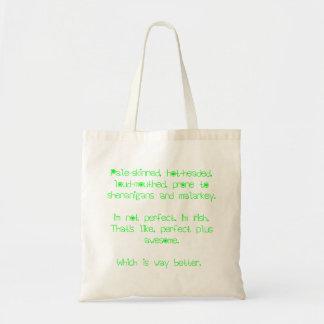Tote Bag- I'm not perfect. I'm Irish.