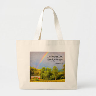 Tote Bag -Jeremiah 29:11...For I know the Plans...