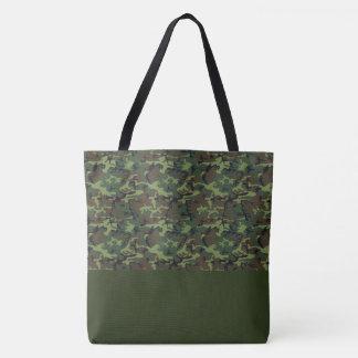 Tote Bag LRGE Green Camo