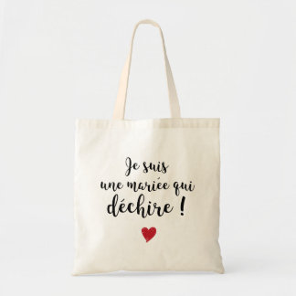 Tote Bag - Married which tears