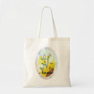 Tote Bag Monogrammed N