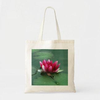 Tote Bag Nénuphar rose