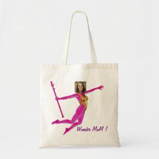 Tote Bag Princess Fairy Wand, Pink Fushia - with YOUR Pho