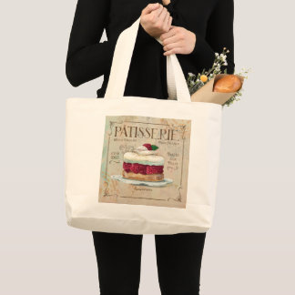 Tote Bag - Shabby Chic Patisserie Paris France