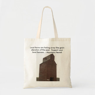 Tote Bag - Support your local farmer.