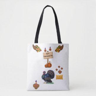 Tote bag thanksgiving