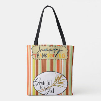 Tote bag thanksgiving