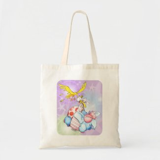Tote bag to carry baby items.