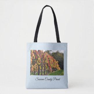 Tote bag, Vineyards in Fall - Sonoma County
