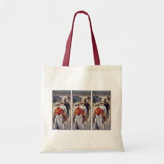 Tote Bag:  Vintage Bicycles - Fongers Cycles