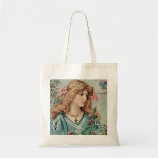 Tote Bag Vintage Woman Graphics