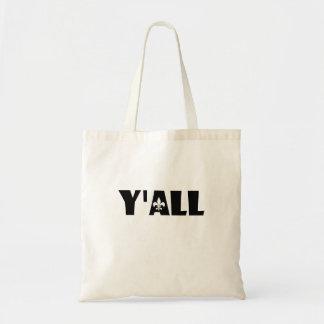 Tote Bag Vous Fleur de Lis Cajun Louisiane Fourre-tout