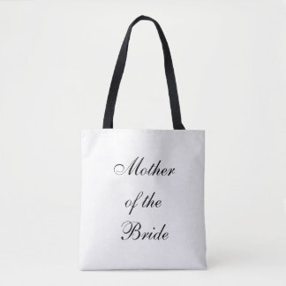 Tote Bag, Wedding, Mother of the Bride