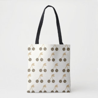 Tote bag with Cherries