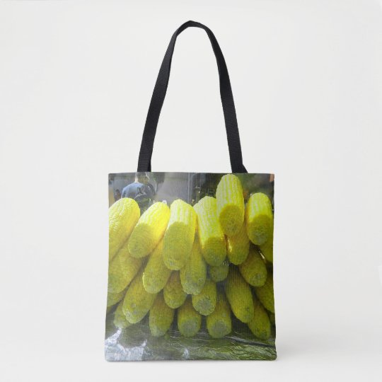 Tote Bag with corn on the cob