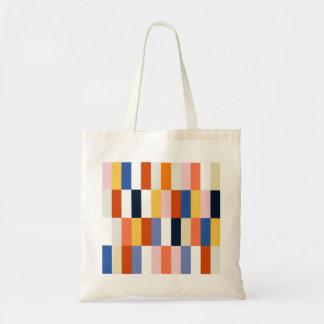 Tote bag with Design blocks