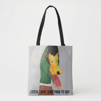 Tote bag with duck design