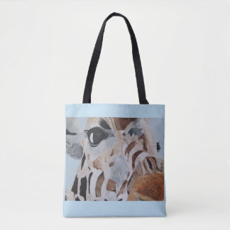 Tote bag with Giraffe design