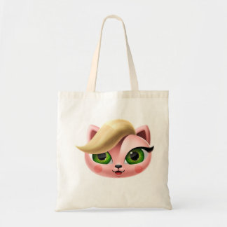 Tote bag with Lapka the Cat