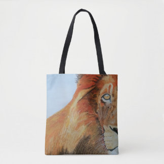 Tote bag with Lion image