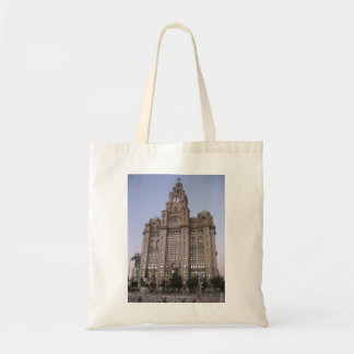 Tote Bag With Liver Building Picture (Liverpool)
