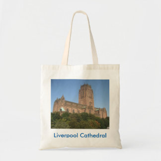 Tote Bag With Liverpool Cathedral Picture