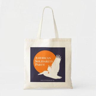 Tote Bag with Orange & White ASP Logo