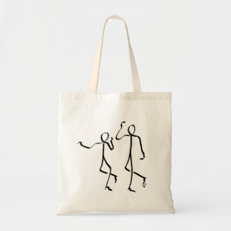 Tote bag with two Charleston dancers