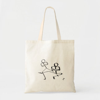 Tote bag with two Cossack dancers