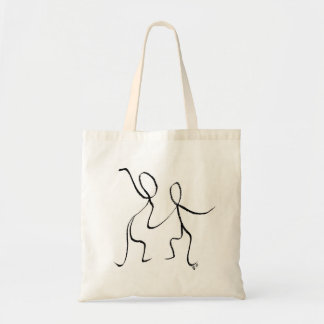 Tote bag with two Jive dancers