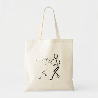 Tote bag with two Samba dancers
