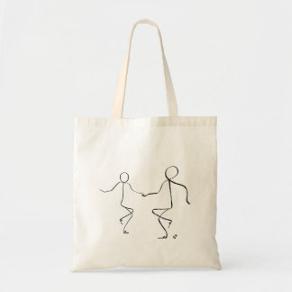 Tote bag with two Twist dancers