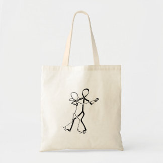 Tote bag with two Waltz dancers