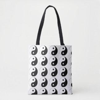 Tote Bag with Ying Yang Chinese Symbol