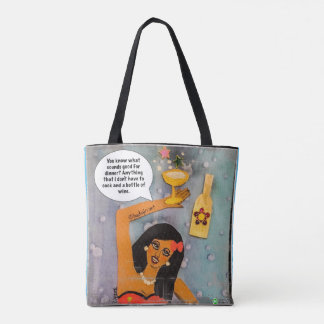 Tote bag- you know what sounds good for dinner?