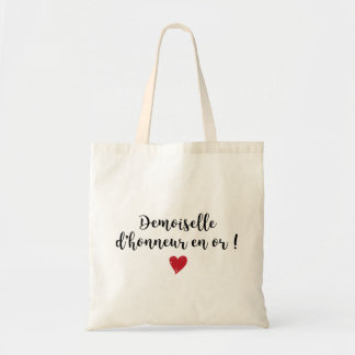 Tote Bag - Young lady of honor