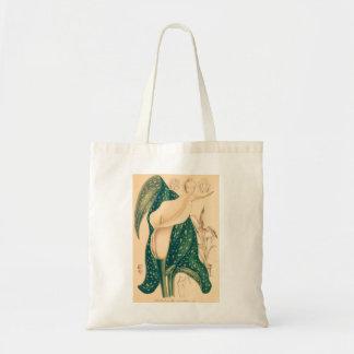 Tote Bag Zantedeschia vintage