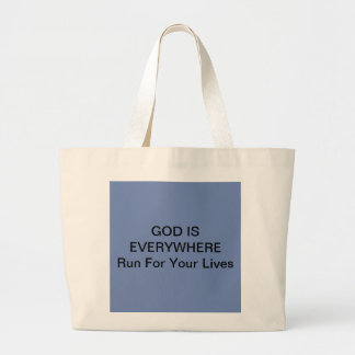 Tote Carry Bag with Fun Quote