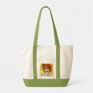 TOTE- DULL WOMEN HAVE IMMACULATE HOUSES TOTE BAG