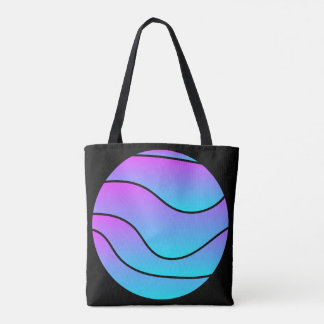 Tote farrowed neon Moon