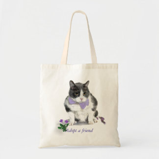 Tote:  Felix, the kitty, in the month of May